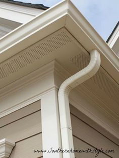 Nichiha USA, Inc. Alternative to James Hardie board - vented soffit Hardie Board Siding, Stone Siding, Cedar Siding, Cement Siding, Home Building Tips, Building A House, Building Products, Exterior Siding, Exterior Colors
