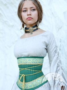 Beautiful medieval dress...this site has many options. Hand-made custom.