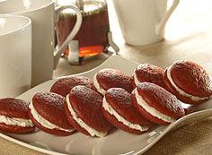 Hershey's Kitchens | Mini Red Velvet Whoopie Pies