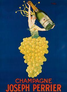 J. Stall, Champagne Joseph Perrier, circa 1929.