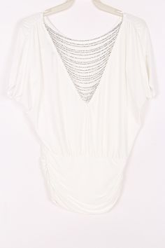 Silver Strand Bia Top in Soft White on Emma Stine Limited