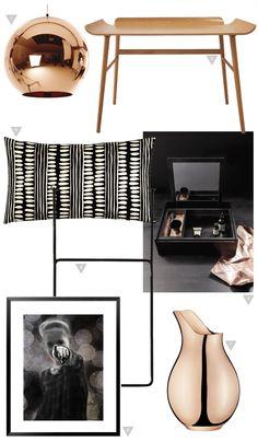 Friday Favorites – Copper & Black