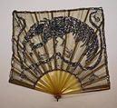 Fan  Date: ca. 1925 Culture: French Medium: silk, celluloid