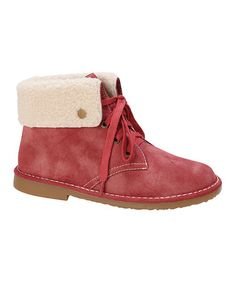 Look what I found on #zulily! Red Ease Fold-Over Boot #zulilyfinds