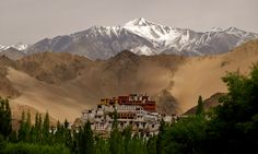 Ladakh or the 'Land of High Passes' is a barren yet beautiful region located in the north Indian state of Jammu and Kashmir. Sharing its east border with Tibet, Ladakh has Lahaul and Spiti to its south and the Kashmir valley to the west. Strategically placed on ancient trade routes, Ladakh lies between the Kunlun Mountains in the north and the Himalayas in the south. The region originally comprised the Baltistan valley, the Indus Valley, Zanskar, Lahaul, Spiti, Aksai Chin and Ngari.