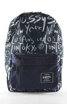 Stussy x Herschel Supply backpack