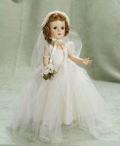 hard plastic Margaret Bride by Madame Alexander, circa 1948 --- Madame Alexander dolls were the BEST!