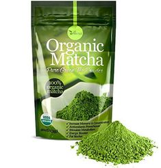 Organic Matcha Green Tea Powder 100 Pure Matcha No Sugar Added Unsweetened Pure Green Tea No Coloring Added Like Others * See this great product. (This is an affiliate link and I receive a commission for the sales) Organic Matcha Powder, Organic Matcha Green Tea, Pure Green Tea, Matcha Green Tea Powder, Green Teas, Green Powder, Best Matcha, Types Of Tea, Tea Benefits