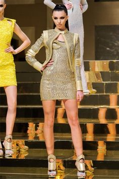 Kate King-Atelier Versace Spring 2012 | Paris Haute Couture