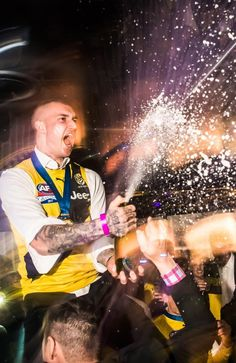 Dusty celebrates the 2017 Premiership Richmond Football Club, Motivation Goals, Day Of My Life, Dream Team, Finals, Superstar, Room Posters, Concert, Celebrities