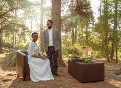 Wedding perfection in a Cape Town forest