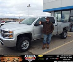 Congratulations to 2R Ranch on your #Chevrolet #Silverado 2500HD purchase from Everyone at Four Stars Auto Ranch! #NewCar