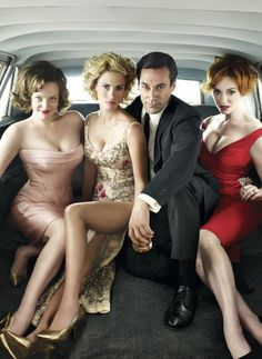 Mad Men foursome