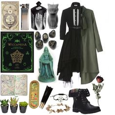 spooky witch stuff by hellsrising on Polyvore featuring WithChic, Wet Seal…