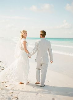 Coral Bahamas Destination Wedding - Style Me Pretty