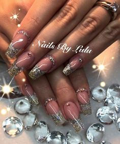 Sparkle, bling, coffin nails