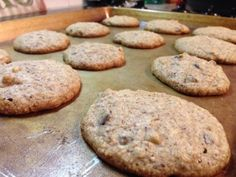 Oatmeal chocolate chip cookies, S Low Carb, no sugar, gluten-free