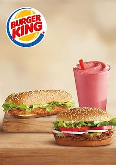 Burger King: Buy 1 Whopper, Chicken Sandwich, or Smoothie… Get 1 FREE!