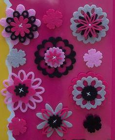 Homemade- Mothers- Day- Ideas - Spring -felt -craft -flower  -_68
