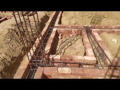 Plinth beam installation work || Beam install on foundation, 9×9 inch RCC beam - YouTube House Map, Beams, House Plans, Foundation, Construction, Youtube, Building, Foundation Series, House Floor Plans