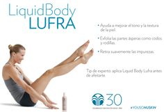 Exfolia tu piel con Liquid Body Lufra #YoUsoNuSKin