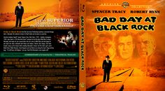 Bad Day At Black Rock Blu-ray Custom Cover