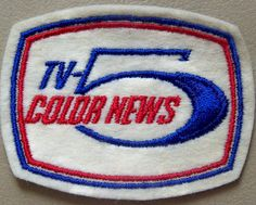 1960s WLW-T TV CINCINNATI NEWS 5 Jacket Patch by CINCINNATI TV & RADIO HISTORY, via Flickr