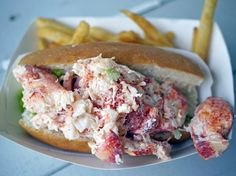 Best Ever Lobster Roll Recipe — Chef Marcus Samuelsson Lobster Roll Recipes, Best Lobster Roll, Seafood Recipes, Cooking Recipes, Lobster Rolls, Delicious Dinner Recipes, Yummy Food, Shrimp Rolls, Wrap Sandwiches