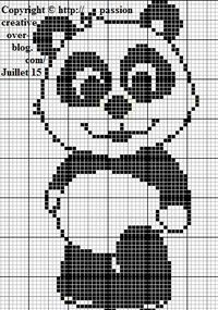 Isabelle blog - Discover my world: cross stitch, painting, towel, pearl, Free grids, ... I'm a jack of all trades. See you soon