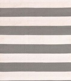MASINFINITO CASA - Alfombra Dash & Albert Catamaran Stripe Fieldstone - Interiores / Exteriores