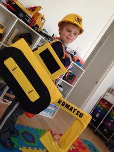 Excavator costume Halloween