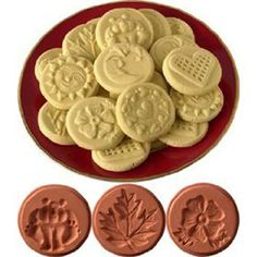 Cookie Stamp Shortbread Recipe Ingredients 1 1/2 cups butter or ...