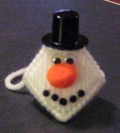 snowman 3  10x10 squares