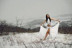 Dancer in the snow by Robert Nemeti on 500px