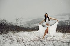 Dancer in the snow by Robert Nemeti on 500px