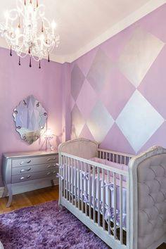 20 Gorgeous Nurseries With Purple Panache