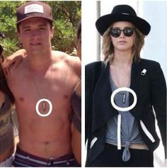 OMG! i did not noticed it! joshifer same necklace?!?!