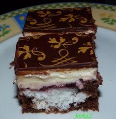 Hromádkový kokosový koláč - obrázok 2 Sweets Cake, Eclairs, Tiramisu, Food And Drink, Cupcakes, Chocolate, Ethnic Recipes, Anna, Green Papaya Salad