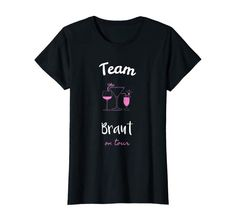 Damen Team Braut T-Shirt JGA Junggesellinnenabschied: Amazon.de: Bekleidung Team Bride, Team Usa, Mens Tops, Fashion, Newlyweds, Getting Married, Clothing, Curve Dresses, Women's