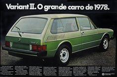 1978 VW Variant II - Brasil