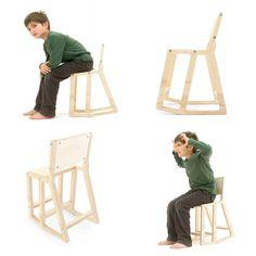 silla niños original