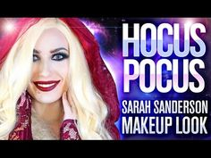 ❤️ Hocus Pocus | Sarah Sanderson | Halloween Makeup Tutorial | Victoria Lyn Beauty - YouTube