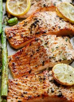 Healthy Baked Salmon Recipes Without Lemon.Baked Salmon In Foil Easy Healthy Recipe. One Pan Lemon Garlic Baked Salmon Asparagus Cafe Delites. 24 World Class Salmon Recipes Perfect For Every Occasion. Baked Salmon And Asparagus, Baked Salmon Recipes, Asparagus Recipe, Fish Recipes, Seafood Recipes, Dinner Recipes, Garlic Salmon, Salmon Low Carb Recipes, Lemon Salmon