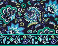 Bella Taylor's Baja Blue Fabric Swatch
