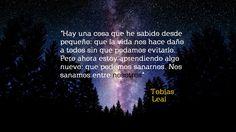 """Ultimas palabras del libro """"Leal"""" ultima parte de la serie Divergente, dichas por Tobias Eaton (Cu4tro)."""