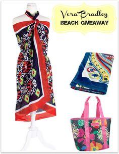 Vera Bradley Beach Giveaway