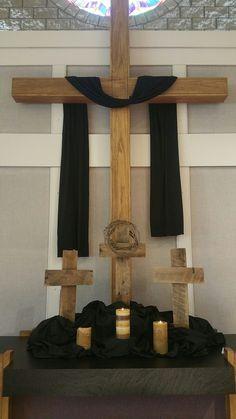 Good Friday altar 2017. Redeemer church dewitt mi