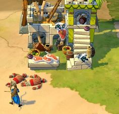 Fresh Meat!  Screenshot from Age of Empires Online #AoEO