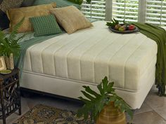 Nature's Sleep Memory Foam Mattress in Sun Room