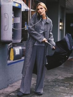 Esther Cañadas photographed by Pamela Hanson for Marie Claire, September 1998